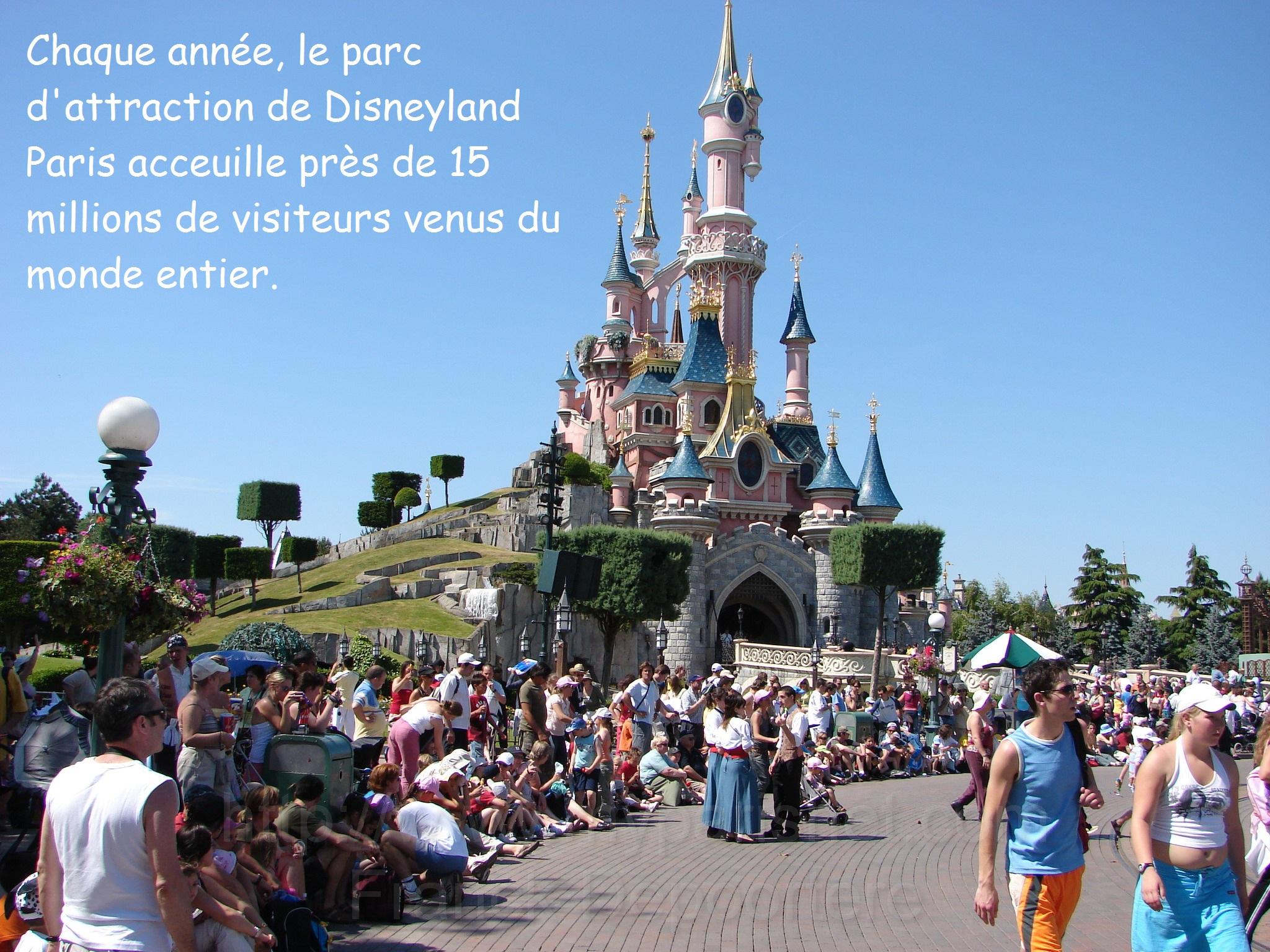 DOC 3 – Le parc d'attraction de Disneyland Paris DOC 4 – Paris, la ville la plus visitée du monde