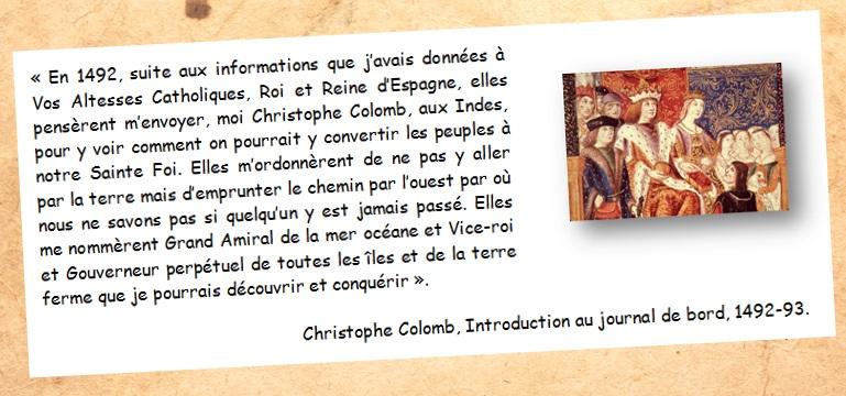 DOC 3 -  Colomb à la recherche des Indes