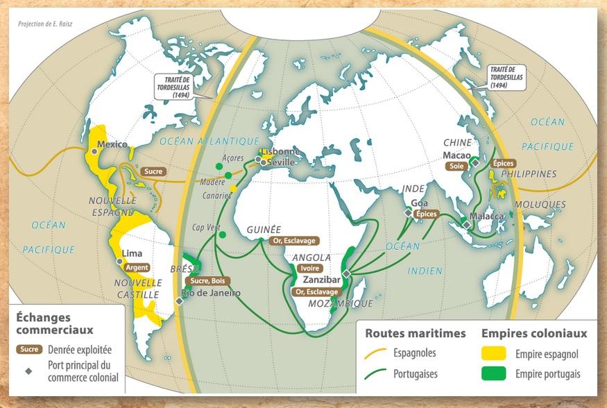 DOC 8 -  Une conséquence des découvertes : la colonisation