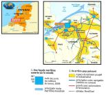 DOC 1 – Localisation du port de Rotterdam, intégré à un chapelet de ports: la Northern Range.