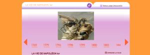 Doc 2 - Chronologie de la vie de Napoléon Bonaparte