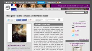 Doc 1 - Rouget de Lisle composant la Marseillaise