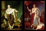 Doc 5 : Comparaison des portraits de Louis XVI et de Napoléon Ier en costume de sacre