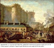 Doc 2 : La Prise de la Bastille et l'arrestation du gouverneur M. de Launay, le 14 juillet 1789, RMN (gravure)