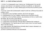 DOC 3 - Le traité de Rome (extraits).