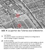 Doc 4 : Le quartier des Tuileries sous la Révolution.