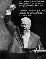 DOC 6 - Le premier secrétaire du Parti communiste d'URSS à l'ONU.