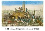 Doc 6 : Louis XVI guillotiné le 21 janvier 1793.