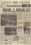 La Une du JDD du 13 août 1961
