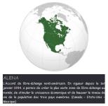 L'ALENA, une union de libre échange