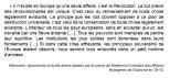 Extrait des mémoires du Prince de Metternich