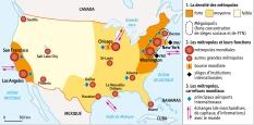 DOC 2 - Les métropoles américaines