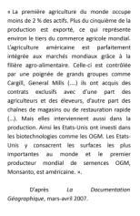DOC 4 - Une agriculture mondialisée