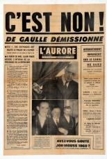 Référendum #3 : « Approuvez-vous le projet de loi soumis au peuple français par le président de la République et relatif à la création des régions et à la rénovation du Sénat ? »