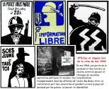 Sélection d'affiches durant les mouvements de mai 1968