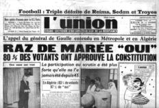 Référendum #1 : « Approuvez-vous la Constitution qui vous est proposée par le gouvernement de la République ? »